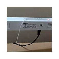 philips slimray 60 led rechargeable batten white in home kitchen