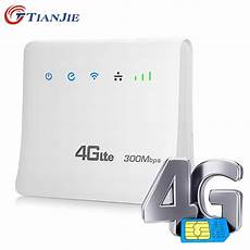 Unlocked 300mbps Wifi Routers 4g Lte Cpe Mobile Router