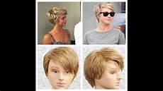 julianne hough pixie haircut tutorial youtube
