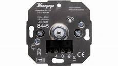 kopp 844500001 unterputz dimmer geeignet f 252 r leuchtmittel