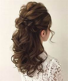 gorgeous half up half down hairstyles hair makeup