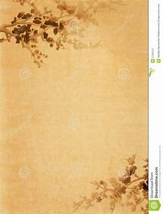 Paper With Floral Design Stock Photo Image Of