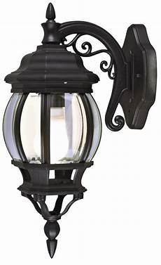 blooma canterbury black mains powered external wall lantern departments diy at b q
