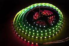 led klebestreifen ws2812b 5m 300 leds 60 leds m 5050 smd rgb led strip