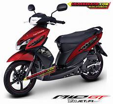Modifikasi Mio Gt by Modif Striping Dan Warna Mio Gt Versi New Striping 2014