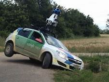Keep Your Eyes On The Road Google Maps Street View Car