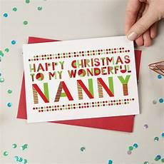 wonderful granny nanny gran nan christmas card by a is for alphabet notonthehighstreet com