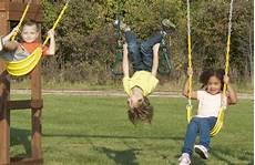 kid swing set high flyer playset for children with monkey bars sandbox
