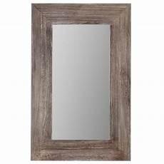 Miroir Avec Cadre En Bois Miroirs D 201 Cor Mural Bouclair