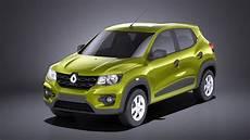 Renault 2018 Kwid 3d Model Turbosquid 1228421