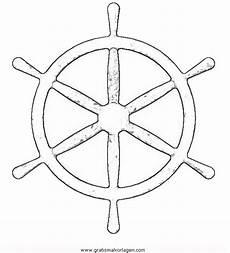 Malvorlage Schiff Einfach Schiffsruder 3 Gratis Malvorlage In Schiffe