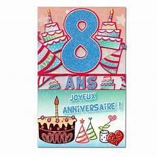 carte anniversaire 8 ans d 233 coup 226 ge une carte pour toi