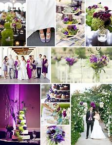 wedding wednesday green purple palette oneworldtheatreprivateevents