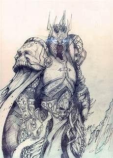 arthas menetil the lich king by saintyak malvorlagen