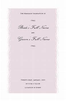 wedding program template for microsoft publisher for the future office templates wedding