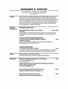free printable resume template free printable resume