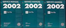online car repair manuals free 2002 cadillac deville transmission control 2002 cadillac deville repair shop manual original 3 volume set