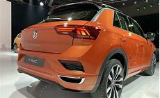 Auto Expo 2020 Volkswagen T Roc Unveiled Carandbike