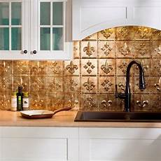 Fasade Kitchen Backsplash Panels Fasade 24 In X 18 In Fleur De Lis Pvc Decorative Tile