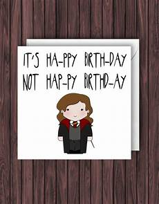 levi o sa harry potter birthday card greetings card