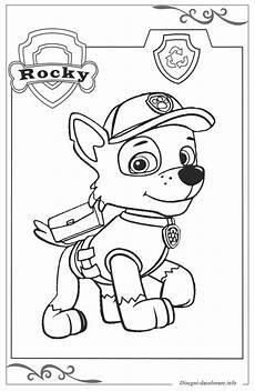 paw patrol disegni gratuiti da colorare