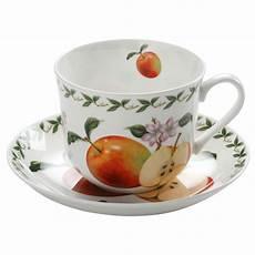 maxwell williams tasse mit untertasse quot orchard fruits