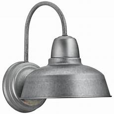 urban barn 13 quot high galvanized outdoor wall light 4m534 lsplus com