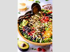 chicken lime chopped salad_image