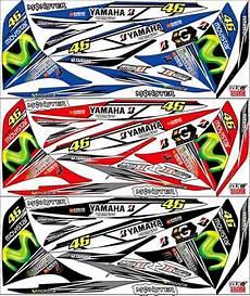jual striping stiker motor yamaha jupiter mx 135 new di lapak alesha allshop juandi yusup13