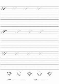 handwriting worksheets 4th grade cursive 22010 12 best images of writing worksheets script handwriting printable
