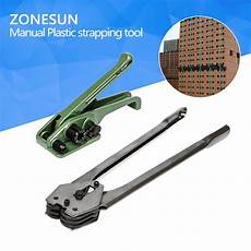 zonesun manual strapping tools pet pp strapping machine in pliers from tools aliexpress