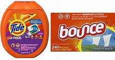 score 20 off laundry detergent fabric enhancers tide bounce more hip2save