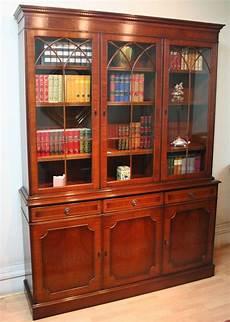 bibliothèque anglaise meuble meubles anglais longfield longfield 1880