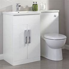 Cooke And Lewis Bathroom Cabinets cooke lewis ardesio gloss white lh vanity toilet pack
