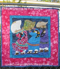 sew incredibly three sheets to the wind
