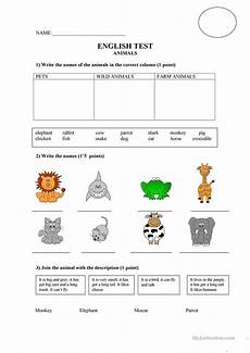 can animals do worksheets 13837 animals test worksheet free esl printable worksheets made by teachers