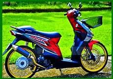 Modifikasi Motor Beat Standar by Foto Modifikasi Motor Honda Beat Standar Keren Modif10