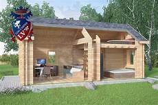 Micro Log Cabin 4m X 8m Poole Garden Room Ideas