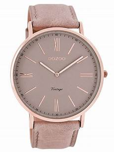 oozoo c7342 vintage damenuhr altrosa 44 mm watche
