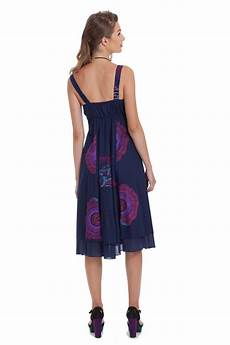 robe originale chic robe courte d ete bleue originale et coloree indigo