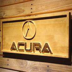 acura wooden sign safespecial
