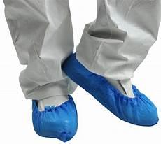 surchaussure jetable poly 233 thyl 232 ne bleu paquet de 100