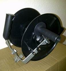 electric fence reel tape wire rope fencing handheld mounted new
