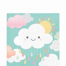 Happy Clouds Baby Shower Kit For 32 Guests City