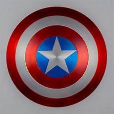 captain america shield metal 1 1 scale satin finish