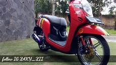 Modifikasi Scoopy New by All New Scoopy Modifikasi