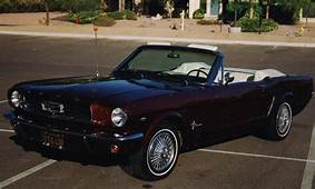 1965 FORD MUSTANG CONVERTIBLE  15582