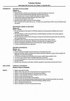 Kitchen Clerk Description by Kitchen Resume Sles Velvet