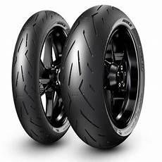 pirelli diablo rosso corsa ii motorcycle tyre the visor