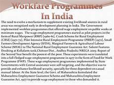 nrega national rural employment gurantee act